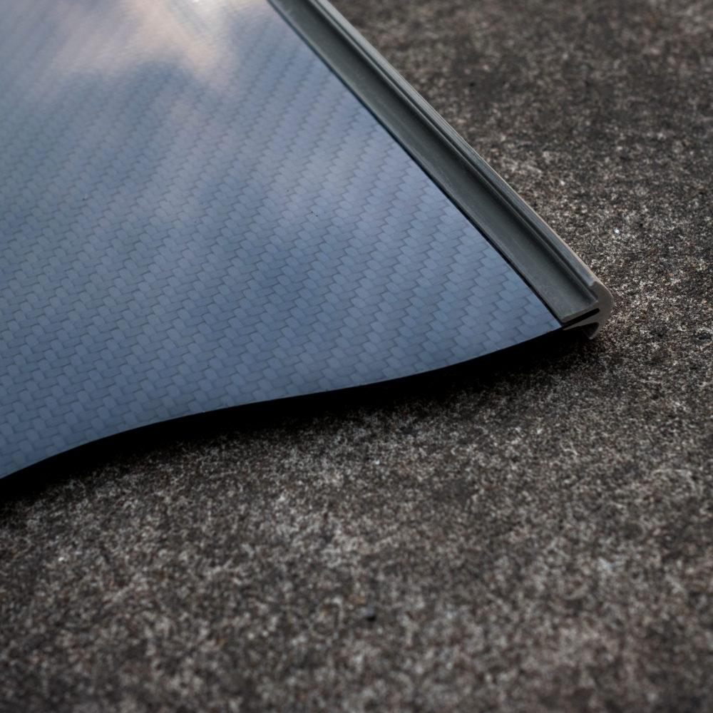 純黑矽膠導水條
